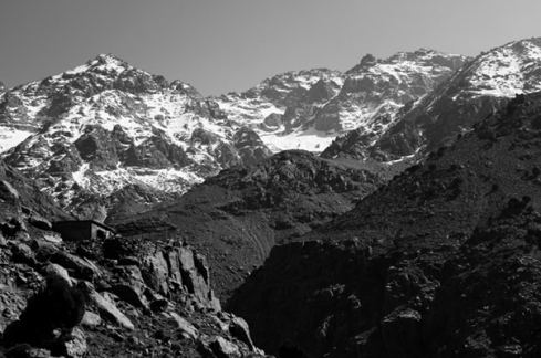 Mount toubkal 4167 m